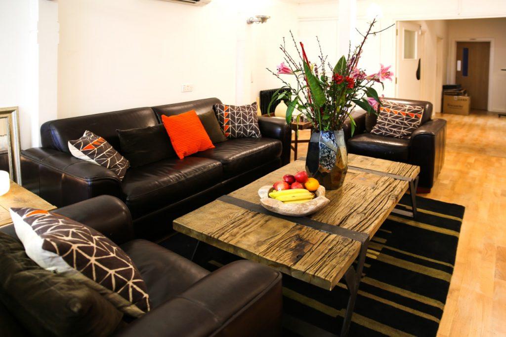 Soho Voices Studio Relaxation Area