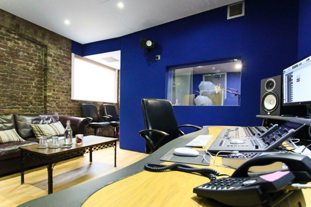Soho Voices Recording Area