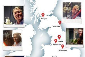 Nigel's UK tour of Voiceover Studios
