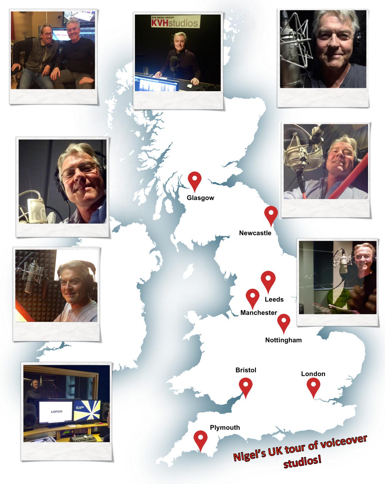 Nigels Tour UK