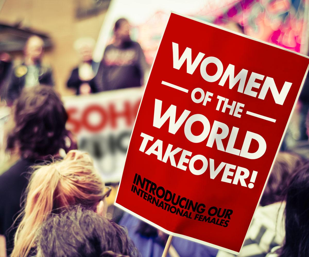 Soho Voices - International-Females_Placard