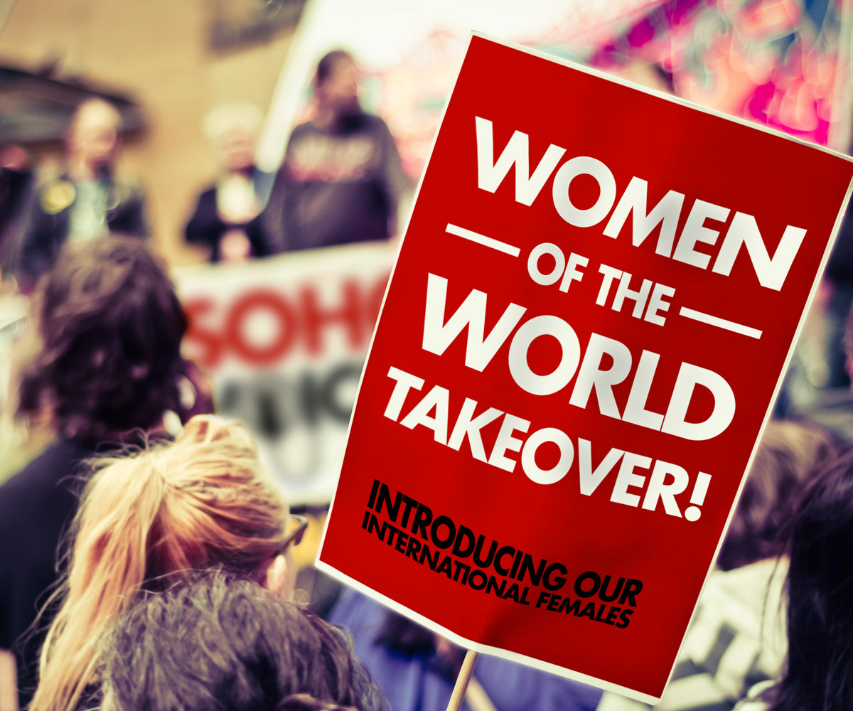 Soho Voices - International-Females_Placard